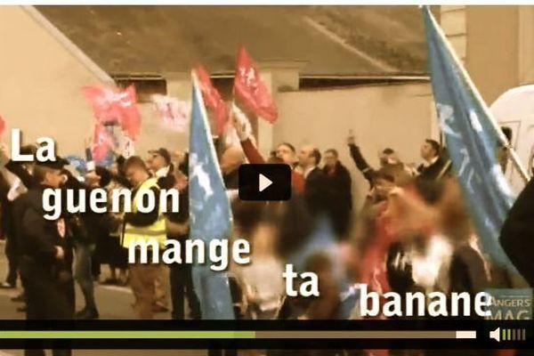 La vidéo mise en ligne par nos confrères d'Angers Mag