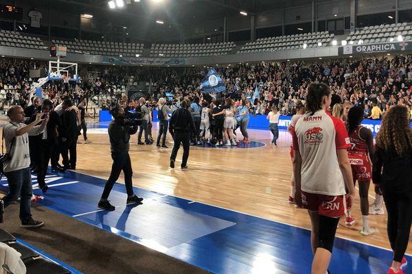 Triste fin de saison pour les Mondevillaises, battues à Nantes et reléguées en ligue 2