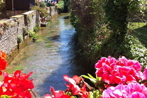 La Veules, le plus petit fleuve de France