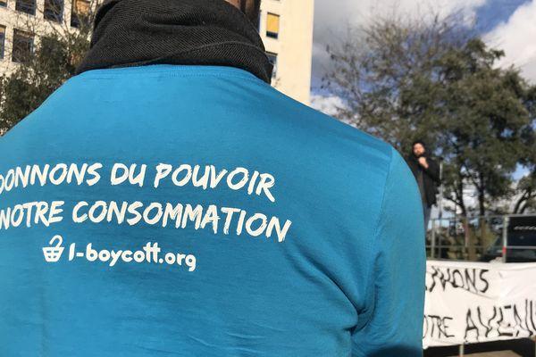 Mouvement anti Black Friday le 29 novembre 2019 à Nantes