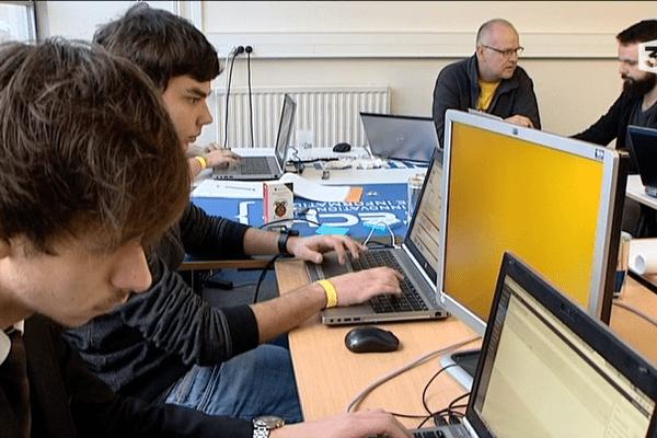 Une centaine de personnes a travaillé jour et nuit ce week-end pour tenter de créer des startup