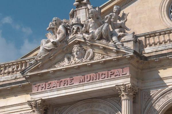 L'opéra de Toulon construit en 1862