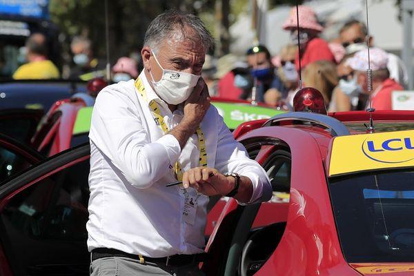 François Lemarchand, natif de Livarot, remplace Christian Prudhomme à la tête du Tour de France durant une semaine