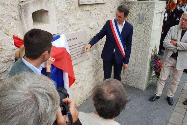 Un cérémonie s'est déroulée au Mur du Souvenir à Grenoble pour le 75e anniversaire de la libération de la ville.