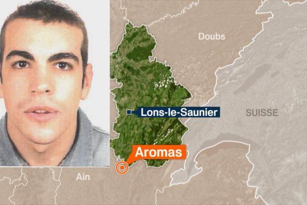 Olivier Flechon, 22 ans, a disparu de foyer de vie d'Aromas, dans le Jura, depuis jeudi