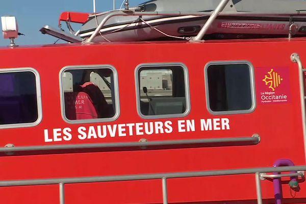 La navette SNSM de Port-la-Nouvelle dans l'Aude.