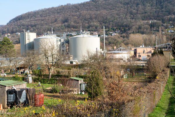 Station d'épuration Port Douvot à Besançon.