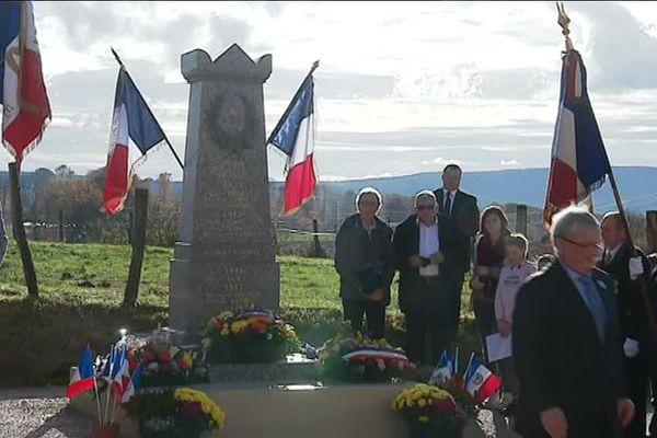 Nouveau monument aux morts de Sorans-lès-Breurey (70)