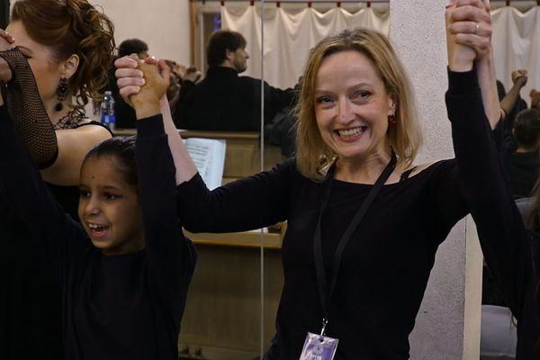 Eve Christophe, responsable artistique et pédagogique du projet