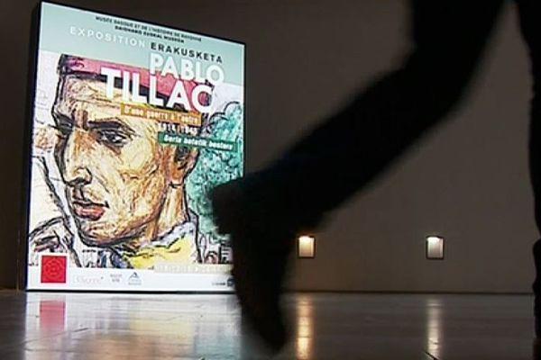 L'exposition présente une galerie de portraits de soldats croqués sur le vif à l'arrière des zones de combats.
