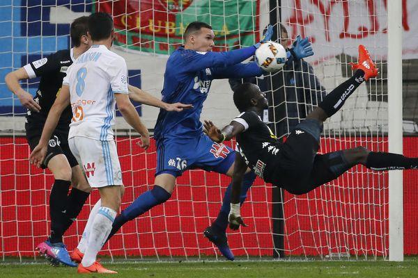 Angers SCO s'est incliné 3-0 face à l'OM le 10 mars 2017