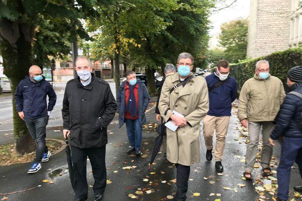 L'Archevêque et la mission diocésaine ont fait le pèlerinage de Saint Remi à Reims le dimanche 4 octobre.