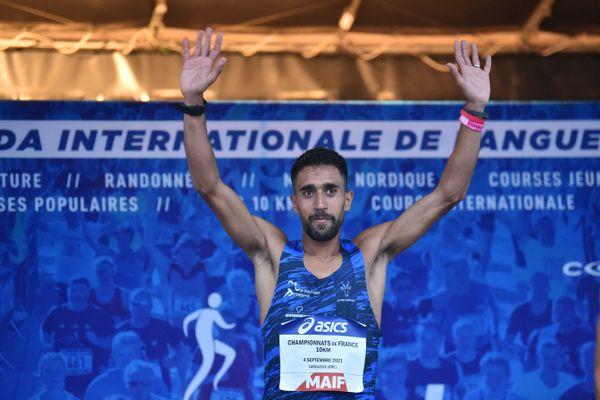 Samedi 4 septembre, Morhad Amdouni a été sacré champion de France du 10 km sur route.
