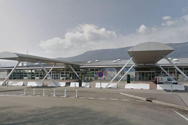 L'aéroport de Chambéry, en Savoie.