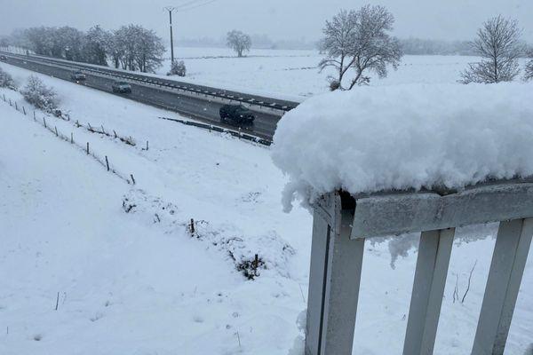 Il est tombé jusqu'à 15 cm de neige par endroits en Ariège