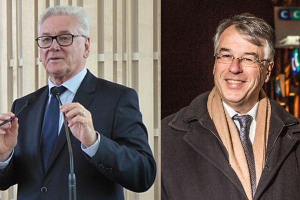 Jean-Claude Leroy (président du Pas-de-Calais) et Jean-René Lecerf (président du Nord) regrettent le manque de visibilité de ces élections départementales.