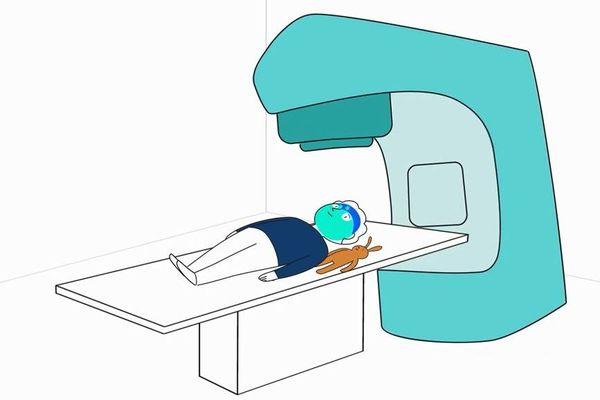 Un dessin animé sur la radiothérapie pour les enfants.