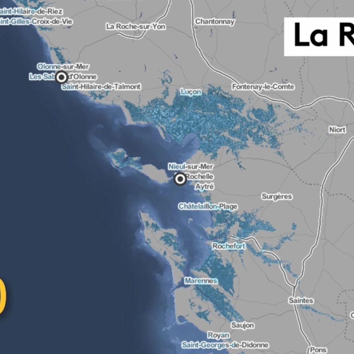 Avant Apres En 2100 Voila A Quoi Ressemblerait La Rochelle Apres La Montee Des Eaux