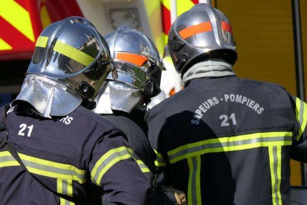Des pompiers de Côte-d'Or