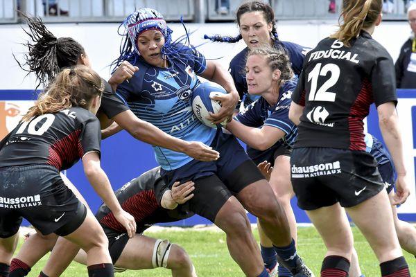 Les Coccinelles de Montpellier face au féminines du stade toulousain l'année dernière - PHOTO d'ILLUSTRATION