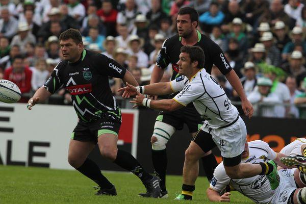 Demi-finale de rugby de Pro D2 opposant la Section Paloise à La rochelle, au stade du hameau de Pau le 11 Mai 2013