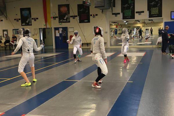 Plusieurs équipes ont choisi l'option de venir s'entraîner sur place avant l'événement.