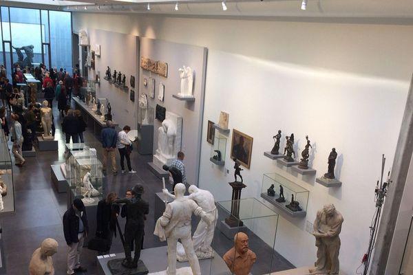 Réouverture du Musée de La Piscine de Roubaix, galerie des sculptures
