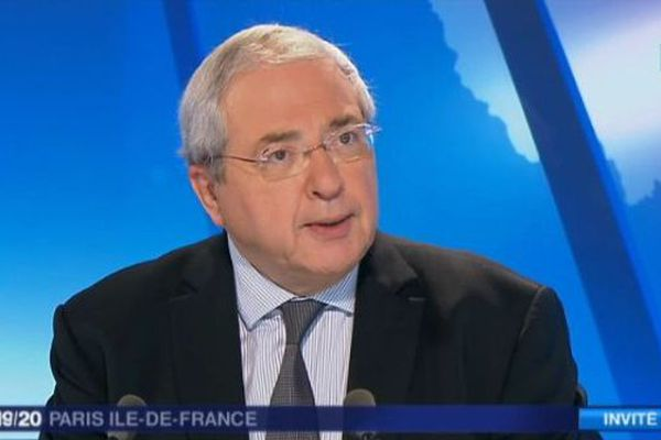 Jean-Paul Huchon, président de la région Île-de-France et du STIF, invité du 19/20.