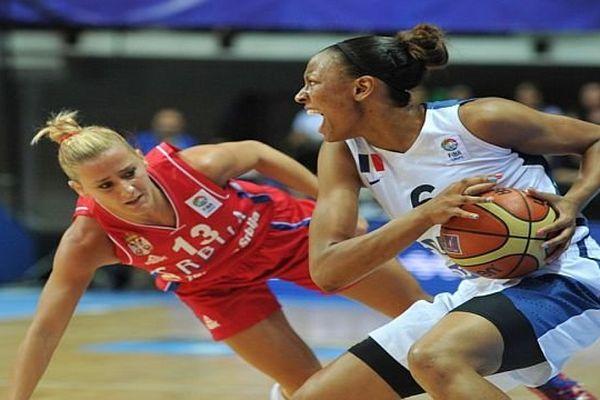 Diandra Tchatchouang évoluait cette saison au Perpignan Basket