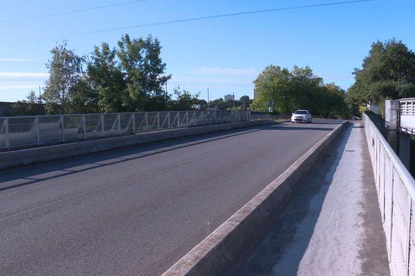Le pont qui surplombe le périph entre Nantes et La Chapelle-sur-Erdre sera fermé 14 mois