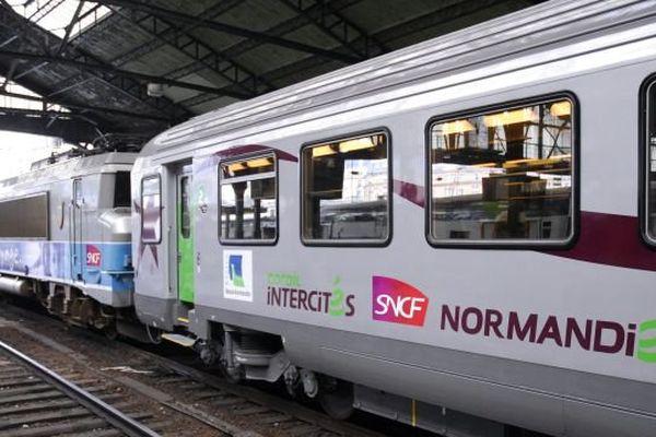 La ligne Paris Caen Cherbourg