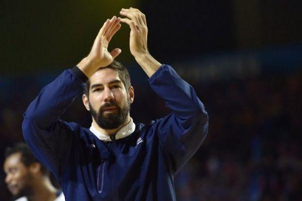 Nikola Karabatic, l'ancien joueur de Montpellier qui vient de décrocher le titre avec le PSG - illustration