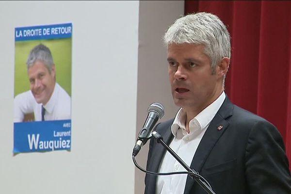 Laurent Wauquiez, l'un des quatre candidats à la présidence du parti Les Républicains.