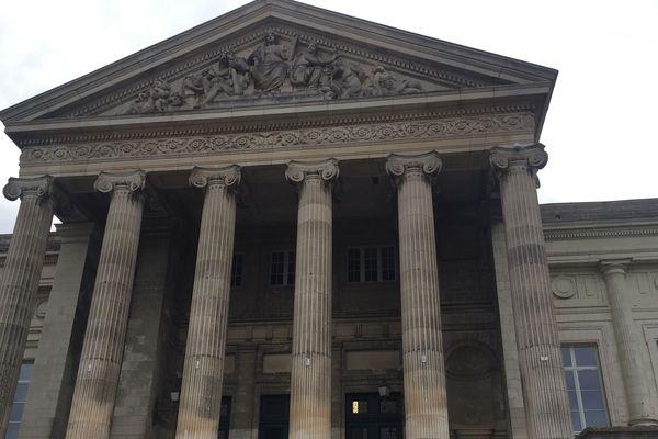 La palais de justice d'Angers