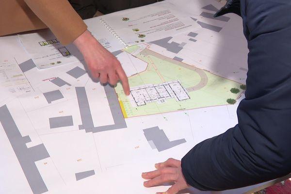 Un petit immeuble de 3 étages conçu à plusieurs doit sortir de terre en 2022.