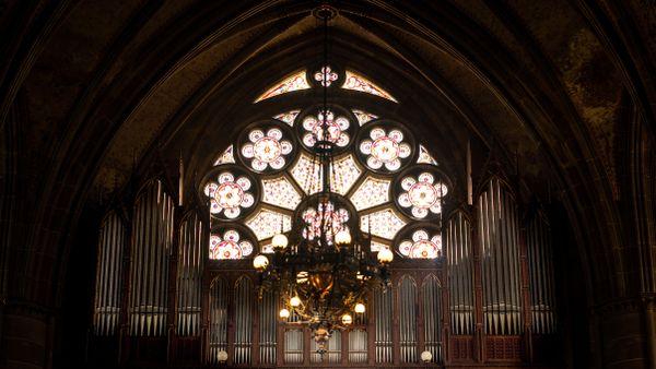Le plus grand orgue d'Alsace, disposant de 76 tubes