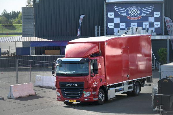 Le camion à hydrogène a été testé par une centaine de professionnels.
