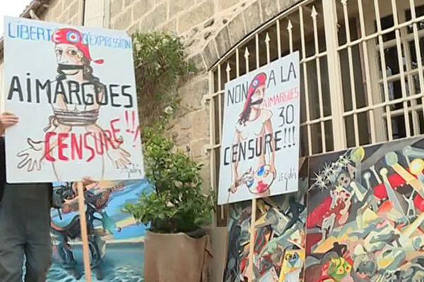 Gard : l'annulation de l'exposition d'un gilet jaune à Aimargues est-elle de la censure politique ? - 21 septembre 2019.