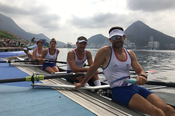Rémy Taranto, 39 ans, para aviron