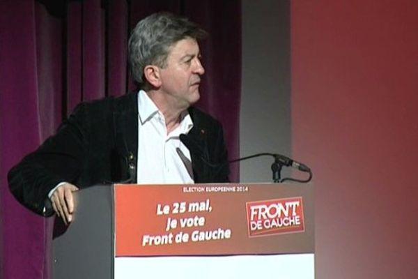 Jean-Luc Mélenchon à Grenoble
