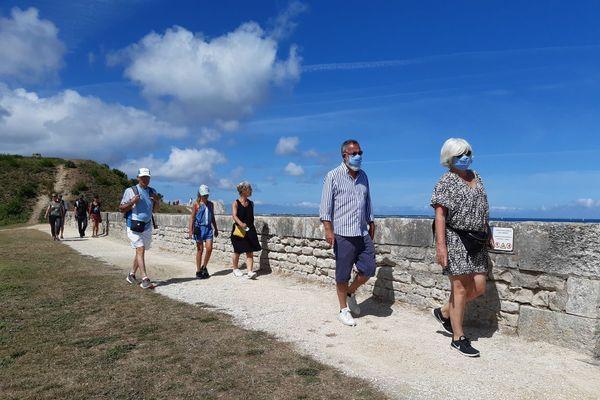 L'île de Ré rend le port du masque obligatoire dans les espaces publics à compter du vendredi 14 août