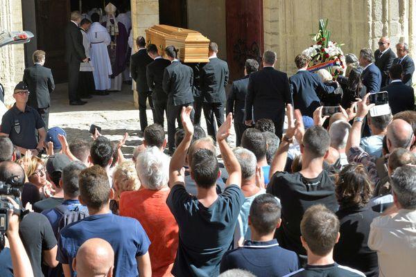 Les obsèques de Louis Nicollin ont été célébrés dans la cathédrale Saint-Pierre de Montpellier
