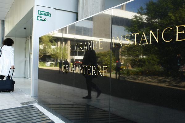 Le tribunal de grande instance de Nanterre, dans les Hauts-de-Seine.