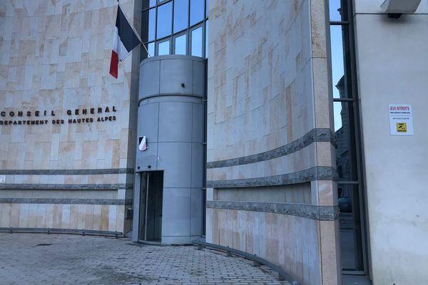 Conseil Départemental des Hautes-Alpes, à Gap.