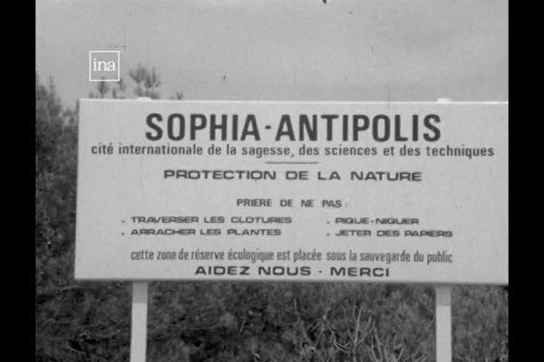 Le projet de technopole à Sophia Antipolis fête ses 50 ans