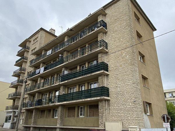L'immeuble ou résidait le Tchétchène boulevard Blanqui à Troyes.