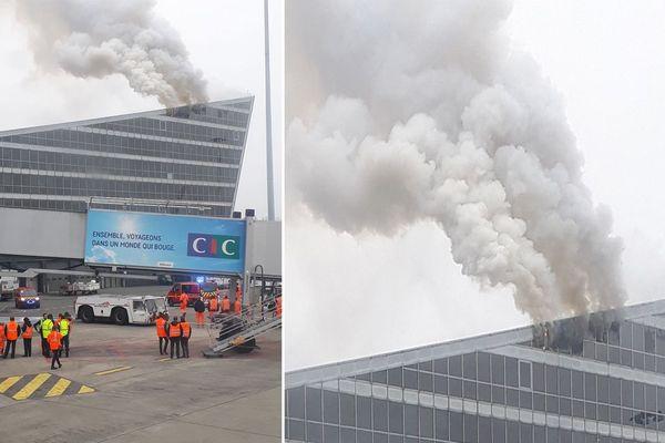 L'incendie s'est déclaré vers 11h30
