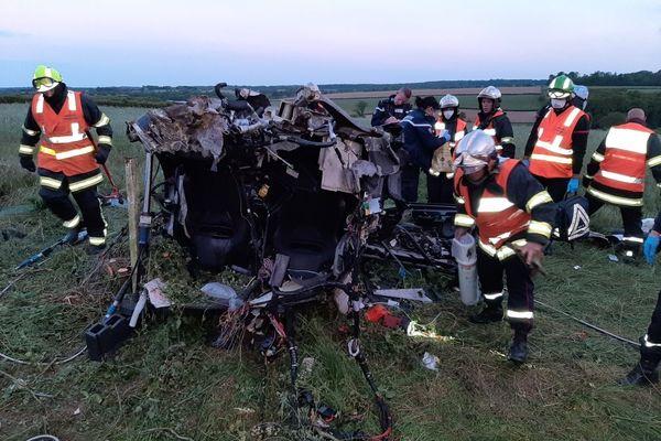 Un accident à Cousolre a fait deux blessés graves.
