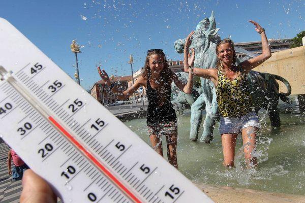 Le soleil va taper fort sur la Provence ce mercredi et les températures vont largement dépasser les  30°.