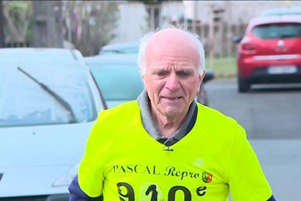 Michel Granizo court tous les jours depuis l'âge de 58 ans.